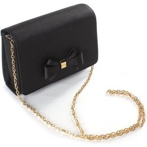Ted Baker London Graciee Grosgrain Bow Clutch